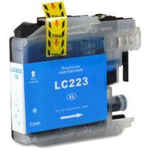 LC223XL C cyan festékpatron, utángyártott, PQ