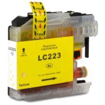 LC223XL Y yellow festékpatron, utángyártott, PT