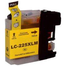 LC225XL Y yellow festékpatron, utángyártott, PQ