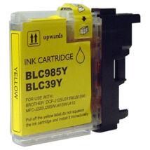 LC39 | LC980 |  LC985 | LC1100 Y sárga festékpatron, utángyártott, PQ