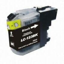 LC123Bk fekete utángyártott festékpatron PQ