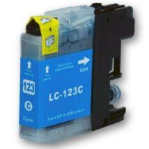 LC123C cyan utángyártott festékpatron, PQ