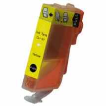 CLI-8Y yellow festékpatron - utángyártott EZ chip nélkül