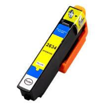 26XL sárga festékpatron, utángyártott (C13T26344012)