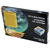 T0715 (T0711+T0712+T0713+T0714) festékpatron csomag, utángyártott, QP
