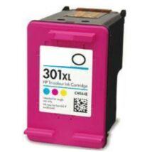 301XL (CH564EE) színes festékpatron, utángyártott, QP