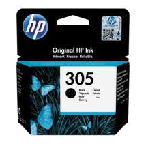 305 (3YM61AE) fekete, eredeti, normál kapacitású festékpatron, DeskJet 2320, 2710, 2720, 4120, 4130