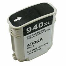 940XL (C4906A) fekete festékpatron, utángyártott, DT