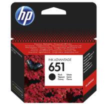 651 (C2P10AE) fekete festékpatron, eredeti, HP Ink Advantage 5575, 5645