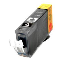 CLI-521Bk fekete festékpatron, utángyártott, QP