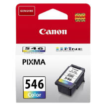 CL-546 CL546 eredeti színes festékpatron MX495 IP2850 MG2450 MG2550 MG2950 kb. 180 oldal