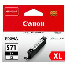 CLI-571XL CLI571XL Bk fekete festékpatron - eredeti MG5750 MG6850 MG7750