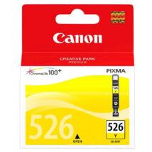 CLI-526Y yellow eredeti festékpatron IP4850  MG5350 IX6550 MG5150 MG5250 MG6150 MG8150
