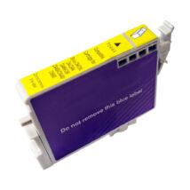 T0444 yellow festékpatron, utángyártott, EZ/QP