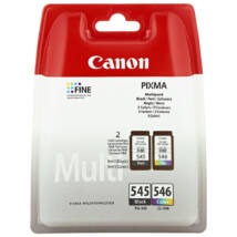 PG-545+CL-546 PG545+CL546 eredeti multipack festékpatron csomag MX495 IP2850 MG2450 MG2550 MG2950