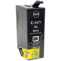 T3471XL 34XL black festékpatron - utángyártott EZ 32ml C13T34714010