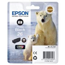 T26114010 Epson 26 fekete festékpatron - eredeti