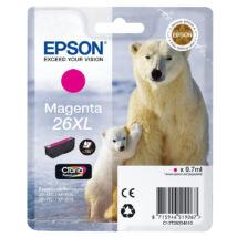 T26334010 Epson magenta festékpatron 26XL 9,7ml - eredeti