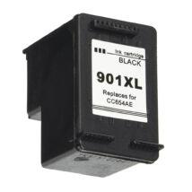 901XL (CC654AE) fekete patron - utángyártott QP kb. 700. oldal