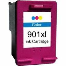 901 - 901XL (CC656AE C656A) színes patron - utángyártott EZ kb. 700 oldal
