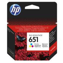 651 C2P11AE színes festékpatron - eredeti Ink Advantage 5575 5645