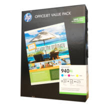 940XL - Multipack CMY +100db fotopapír CG898A