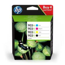 3HZ51AE eredeti 903 XL kapacitású festékpatron csomag (Bk+C+M+Y)