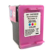 301XL (CH564EE) színes festékpatron, utángyártott, PQ