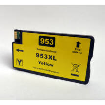 953XL F6U18AE Y yellow utángyártott festékpatron PQ OfficeJet Pro 8210 8710eAiO 8720eAiO 8730eAiO