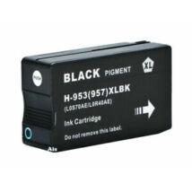 953XL L0S70AE Bk fekete utángyártott festékpatron QP OfficeJet Pro 8210 8710eAiO 8720eAiO 8730eAiO