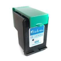650XL 12ml !! black CZ101AE festékpatron - utángyártott 1015, 1515, 2510, 2515, 2516, 2545, 2645, 33