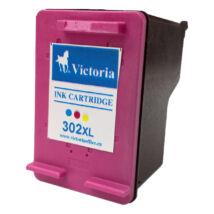 302XL F6U67AE színes, nagy kapacitású utángyártott VI festékpatron Deskjet 2130 1110 3630 3830 4650