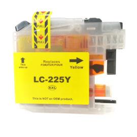LC225XL Y yellow festékpatron, utángyártott, WB