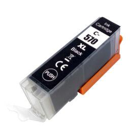 PGI-570XL Bk (0318C001) festékpatron, utángyártott, fekete, nagy kapacitású, PQ