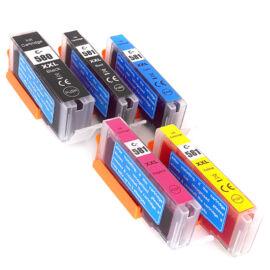 PGI-580XXL + CLI-581XXL (1998C004) festékpatron csomag, utángyártott, BGBk+Bk+C+M+Y, PQ