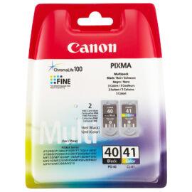 PG-40+CL-41 (0615B043) festékpatron csomag, fekete+színes, eredeti