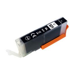 CLI-571XL CLI571XL Bk fekete festékpatron - utángyártott PQ MG5750 MG5751 MG5752 MG5753 MG6850 MG77