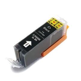 PGI-550XL PGB Bk (6431B001) festékpatron, utángyártott, fekete, nagy kapacitású, WB