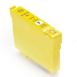 27XL (T2714) yellow festékpatron, utángyártott, QP