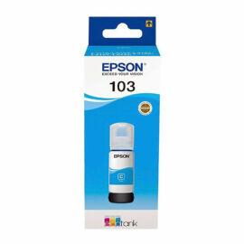 no. 103 C (T00S24A) EcoTank tinta, cyan, 65 ml, eredeti