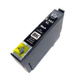502XL Bk (C13T02W14010) festékpatron, utángyártott, fekete, nagy kapacitású, PQ