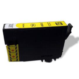 29XL (T2994) Y festékpatron, utángyártott, sárga, nagy kapacitású, WB/QP/EZ