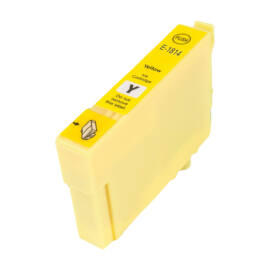 T1804/T1814 Y festékpatron, utángyártott, sárga, PQ/NN