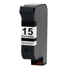 15 (C6615DE) fekete festékpatron, utángyártott, EZ