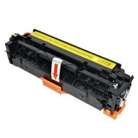 305A (CE412A) / 304A (CC532A) / 312A (CF382A) Y toner, utángyártott, sárga, 2.8k, NN