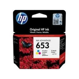 3YM74AE HP 653 színes eredeti festékpatron