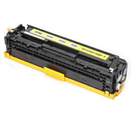 131A (CB541A/CE321A/CF211A) Y toner, utángyártott, sárga, 1.4k, QP