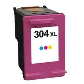 304XXL (N9K07AE) Color festékpatron, utángyártott, színes, nagy kapacitású, GR