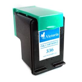 336 (C9362E) fekete festékpatron, utángyártott, VI
