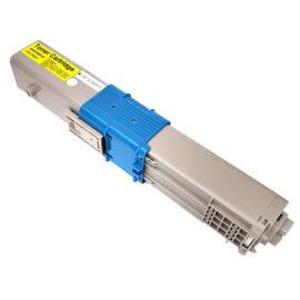 C310/330/510/530 / MC351/361/362/561/562 (44469704) Y toner, utángyártott, sárga, 2.0k, NN/QP